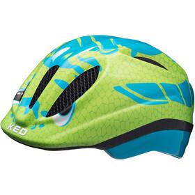 KED Meggy Trend Helmet Kids dino light blue green